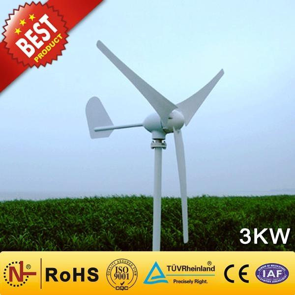 China Manufacturer of Wind Generator-3kw (Wind Turbine Generator 90W-300KW) 1