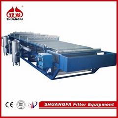 SF DU rubber vacuum belt filter - professional sludge dewatering machine