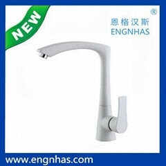 EG-089-9105B Engnhas kaiping single handle modern brass flexible kitchen faucet