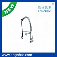 EG-093-9295 Engnhas top sale modern pull out kitchen faucet