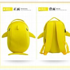 潛水料新款儿童雙肩雙背包