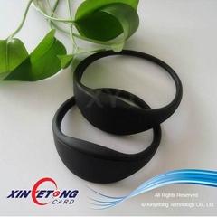 55MM RFID Wristbands For Children Tracking MF Ultralight