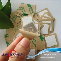 ISO15693 PVC RFID Label I Code 2 18*18mm