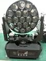 Osram 19pcs*12w Beam LED Zoom Moving Head Light 4