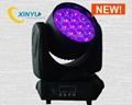 Osram 19pcs*12w Beam LED Zoom Moving Head Light 5