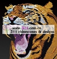 311 animal tiger hot-fix heat transfer