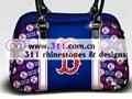 311 bags purses rhinestuds octagon studs