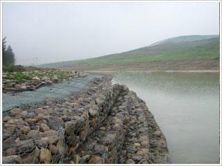 鍍鋅堤壩石籠網 1