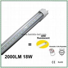 2000lm 18W 1.2米日光灯管