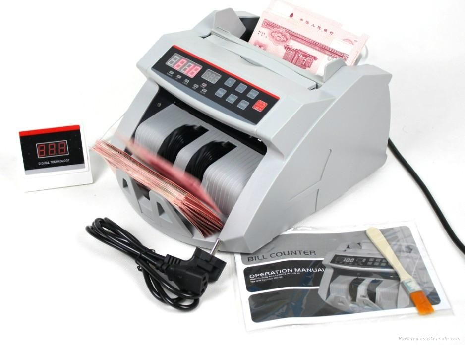Electronic Automatic Money Counter UV Light For Half Note Detection 1