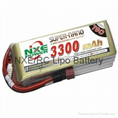 NXE Power softcase 3300~4200 rc lipo battery for RC plane/helicopter/multicopter