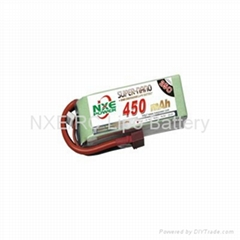 RC Lipo 25C 360mah ~450mah 2s 7.4v Battery for mini helicopter-NXE Power