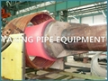 steel pipe end forming machine for