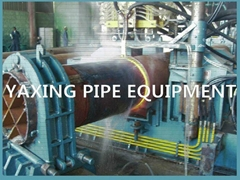 stainless steel tube bending machine with induction heating