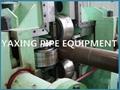 round to square tube making machine for