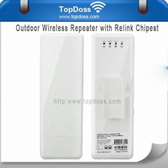 TopDoss 2.4 Ghz 802.11an Long-Range Wifi Outdoor Cpe  Access Point  Router