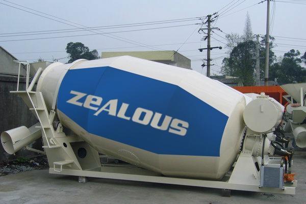 Concrete Transport Tank 3