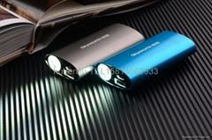 新款私模強光手電移動電源5200mAh /10400mAh