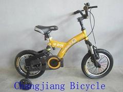 好質量帶避震儿童自行車