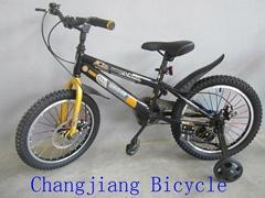 儿童碟剎山地自行車