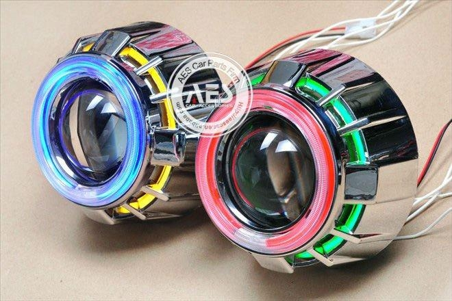 AUTO headlight AES-G1 Double angel eye Automobile&motorcycle hid xenon projector 3