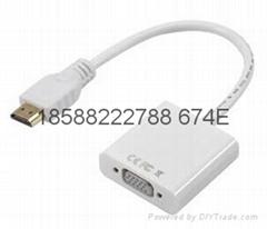 高清HDMI转VGA