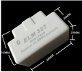 NEW WHITE ELM327 BLUETOOTH OBD2 SUPER MINI ELM327 1