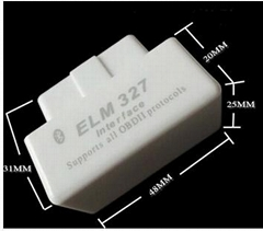 NEW WHITE ELM327 BLUETOOTH OBD2 SUPER MINI ELM327