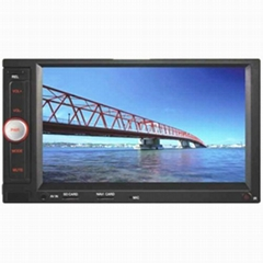 Touch Screen Car Stereo Radio with MP3 CD Player Adapter  Portable DVD Player