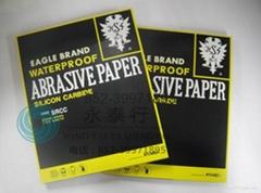 日本双鹰碳化硅黄皮黑鹰砂纸