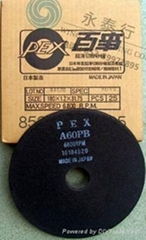 日本PEX百事牌树脂连接极薄切断砂轮