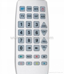 Universal/single remote control for tv,air condition