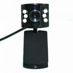 5M pixel VGA LED Clip PC web camera USB 360 free driver hd wireless cmos laptop