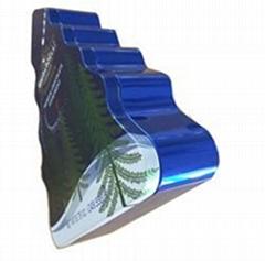 Christmas Tree Shape  Tin Can