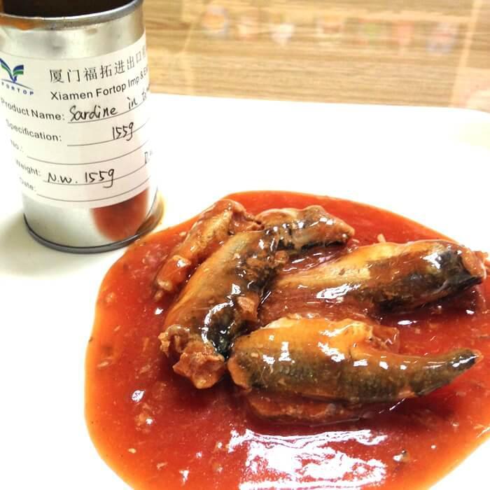 Canned sardine fish(in oil, brine, tomato sauce) 1