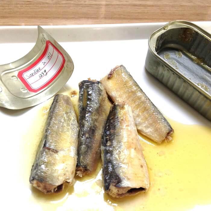 Canned sardine fish(in oil, brine, tomato sauce) 3