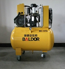 Baldor screw air compressor 10hp 7.5kw
