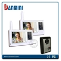Wireless video door phone intercom access control system 1