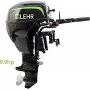 9.9 hp Propane Powered Outboard Engine