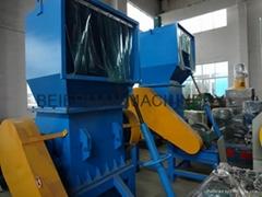 plastic pipe crushing machine
