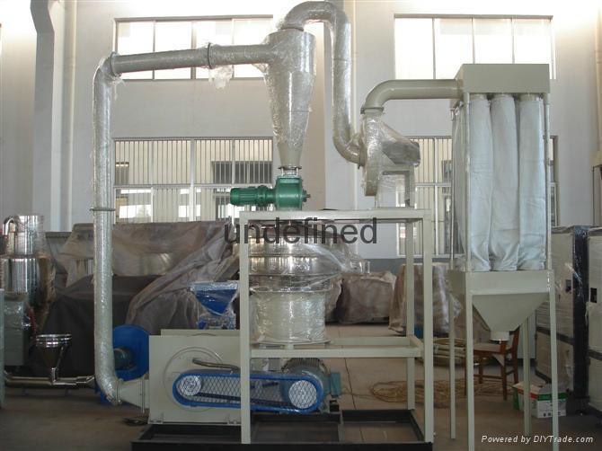 PVC塑料磨粉机 4