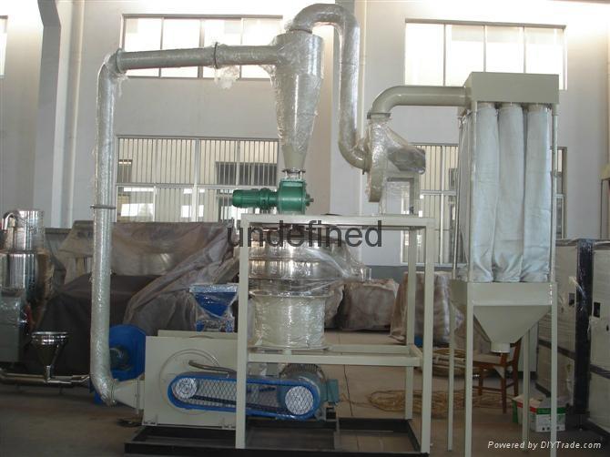 PVC塑料磨粉机 3