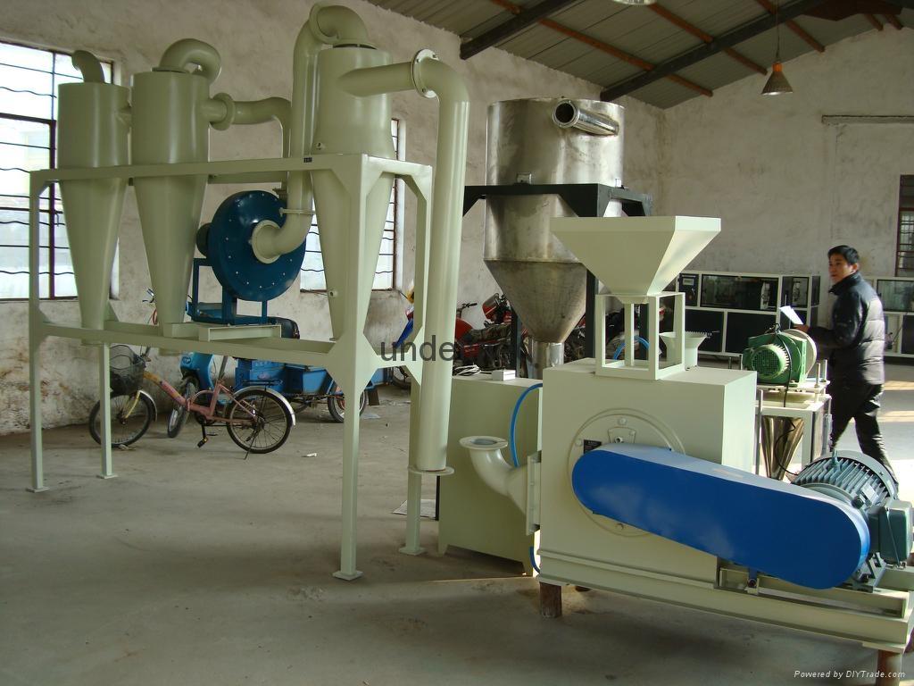 PVC塑料磨粉机 2