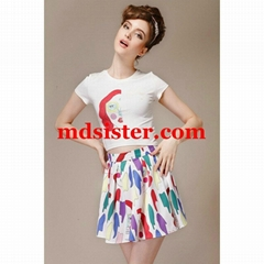 wholeasle and drop ship good quality womens apparel dress set