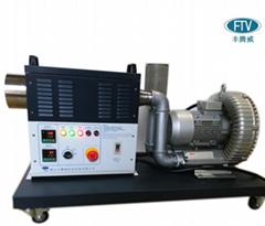 佛山豐騰威小型高壓10KW工業熱風機