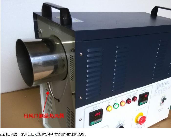 佛山丰腾威中型20KW工业热风机 3