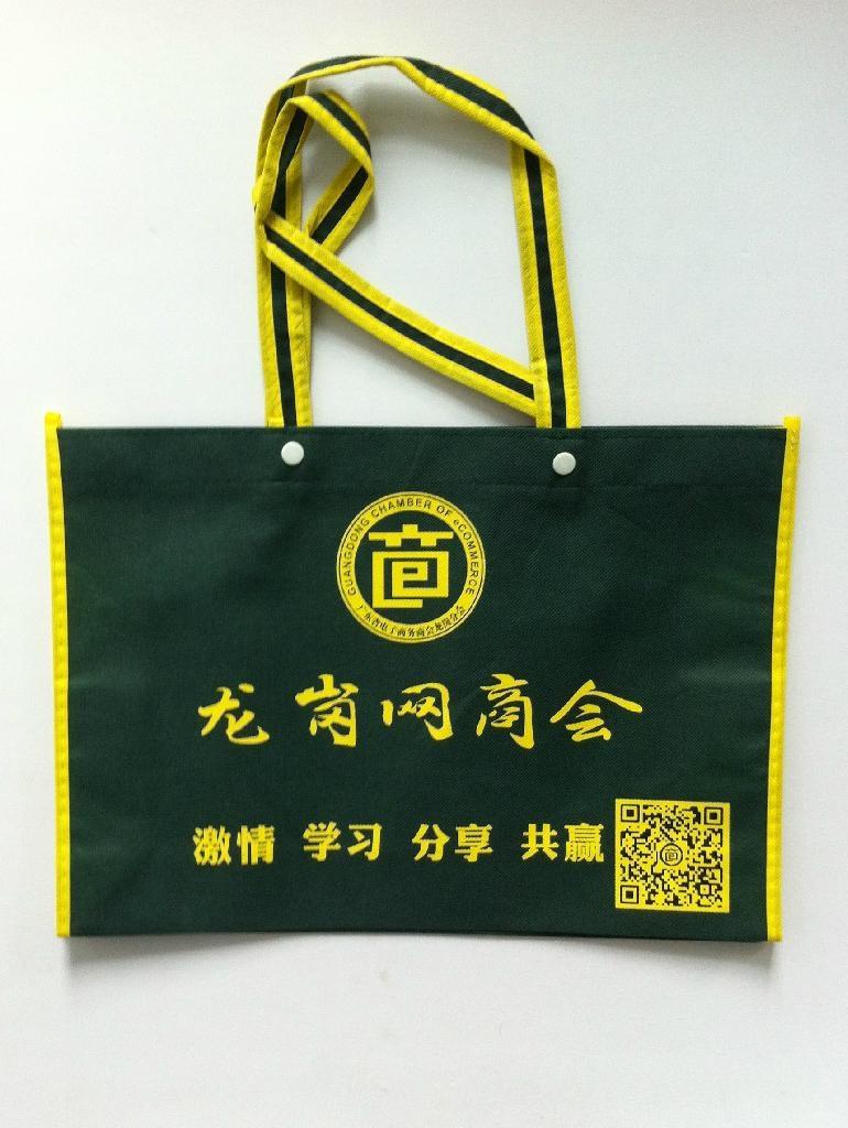 深圳无纺布袋厂家直销定做无纺布袋环保袋帆布袋 2