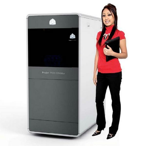 ProJet 3510 CPX&Plus蠟型3D打印機 1