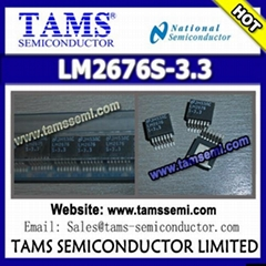 LM2676S-3.3 - NS - SIMPLE SWITCHER High Efficiency 3A Step-Down Voltage Regulato