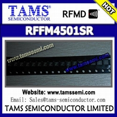 RFFM4501SR - RFMD - WIDEBAND SYNTHESIZER/VCO WITH INTEGRATED 6 GHz MIXER